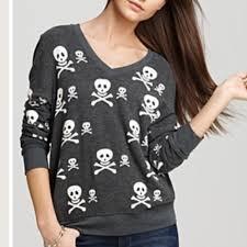 skull sweater wildfox reduced wildfox skull sweater from erika s closet