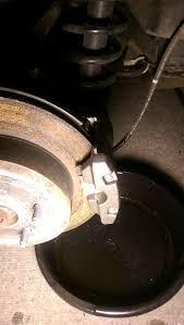 lexus gs 350 brake pad replacement diy gs 350 07 rear caliper change clublexus lexus forum