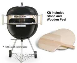 Backyard Pizza Oven Kit by Kettlepizza Charcoal Pizza Oven Deluxe Kit Turn Your Outdoor