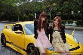japanese street race cars 00 meets the 2010 japan supergt racequeens and some exotics