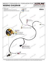 35 wiring harness mf wiring diagrams instruction