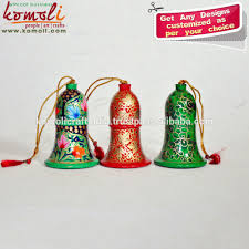 wooden bells handmade christmas tree ornaments decorations buy