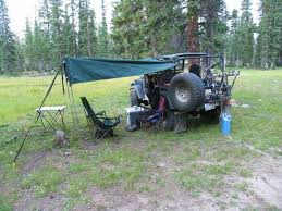 Diy 4wd Awning Awnings Off A Roof Rack Suggestions And Pictures Please Ih8mud