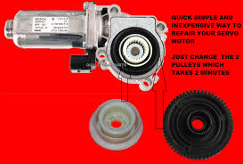 servo motor transfer case actuator motor tranmission repair gear
