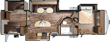 Bunkhouse Floor Plans by 2016 Mesa Ridge Fifth Wheels By Highland Ridge Rv