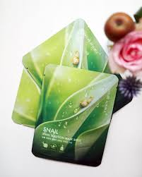 Masker Nr review nature republic snail solution mask sheet l o v e