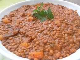 lentilles à la marocaine z en cuisine