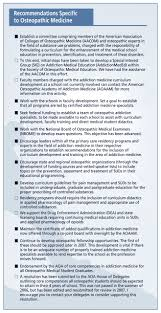 Core Qualifications List Improving Physician And Medical Student Education In Substance Use