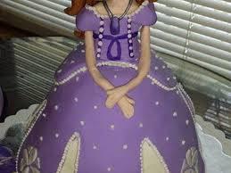 sofia the first sofia doll cake cakecentral com