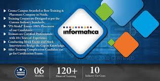 Informatica Admin Jobs Informatica Training In Gurgaon Best Informatica Training