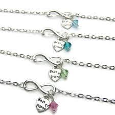 birthstone bracelets for best birthstone infinity bracelet products on wanelo