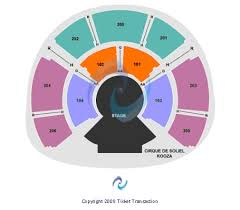 United Center Floor Plan Grand Chapiteau At United Center Tickets In Chicago Illinois