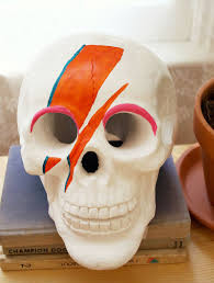 just for fun david bowie inspired skull u2013 a beautiful mess
