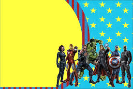 avengers free printable invitations is it for parties is it