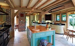 country style kitchen islands 25 country style kitchens homebuilding renovating