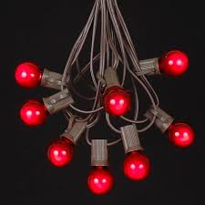 globe shaped outdoor g30 light string sets novelty lights inc