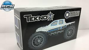 nitro rc monster truck kits tekno mt410 1 10th 4wd monster truck kit unboxing youtube