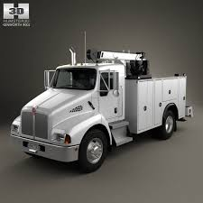 kenworth build and price kenworth t300 heavy service truck 2006 3d model from humster3d com