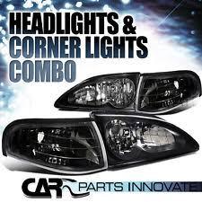 1994 mustang gt headlights 94 ford mustang headlights ebay