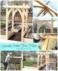 wedding arches and arbors garden arbor arch awesome wedding arch plans images about free