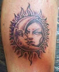 sun and moon tattoos 09 sun moon gallery ideas