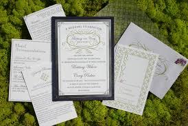 Winery Wedding Invitations Elegant Classic Letterpress Sonoma Winery Wedding Invitation