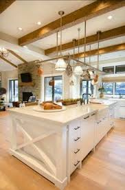 Kitchen Island With Sink I Love All The Texture Stone Brick Distressed Plaster Arched