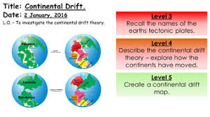 continental drift theory lcharlotte9 teaching resources tes