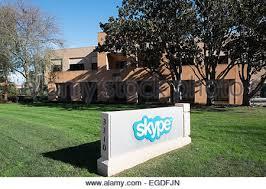 skype headquarters skype headquarters in silicon valley palo alto ca stock photo