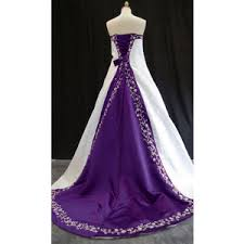 purple white wedding dress white wedding dresses with purple wedding decorate ideas