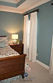 sherwin williams moody blue master bedroom beige carpet white