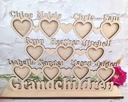 Grandparent Plaques Grandchildren Frame Etsy