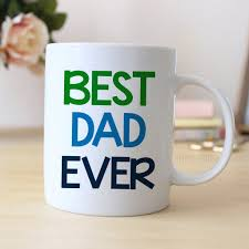 Best Coffee Cups Dad Ever Coffee Mug Father U0027s Day Gift Coffee Mug For Dad