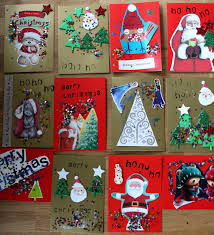 christmas card crafts for preschoolers christmas lights decoration