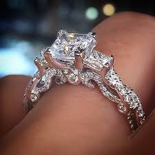 amazing wedding rings best 25 princess cut diamonds ideas on princess cut