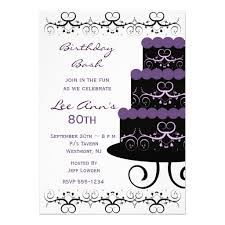 80th birthday invitations templates ideas drevio invitations design