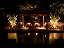 Pool Landscape Lighting Ideas by 27 Ideas For Decorating Patio With Lighting Fixtures Interior