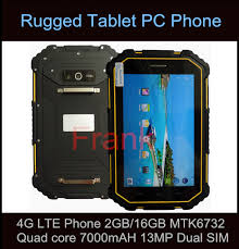 rugged handheld pc original rugged tablet pc waterproof ip67 4g lte cell phone 2gb
