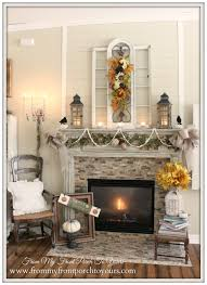 from my front porch to yours french farmhouse fall mantel