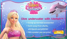 barbie sirena makeover jocuri cu barbie