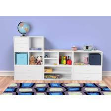 White Cube Bookcase by Foremost 15 In White Open Cube 327601 The Home Depot