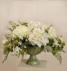 hydrangea centerpiece floral home decor hydrangea centerpiece in bowl reviews wayfair