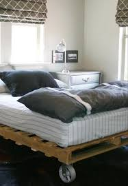 How To Build A King Platform Bed With Drawers by Pallet Addicted 30 Bed Frames Made Of Recycled Pallets