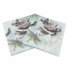 serviette en papier vintage achetez en gros papier imprim u0026eacute serviettes en ligne à des