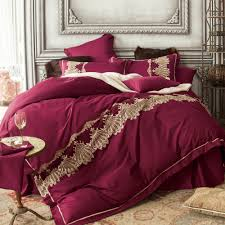 royal luxury duvet cover bed sheet bedding pillowcase embroidered