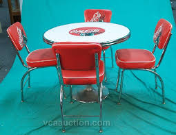 50 s diner table and chairs coke table and chairs route26 pinterest coke
