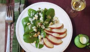 serve green salad with pear dressing for thanksgiving thecabin