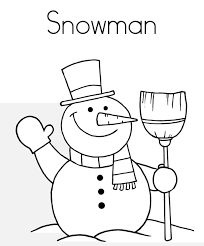 coloring pages winter snowman free winter coloring pages of