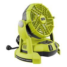 ryobi fan and battery 18v one misting fan r18mf 0 ryobi tools