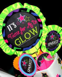 glow in the party ideas for teenagers festa neon neon and festas on